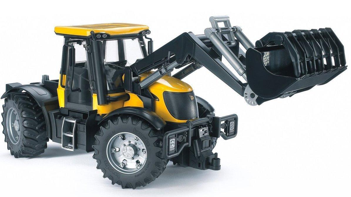 """Трактор Bruder JCB Fastrac 3220 с ковшомИгрушечные тракторы<br>Детский трактор """"JCB Fastrac 3220"""" с ковшом от компании Bruder - лучшая игрушка для мальчика от 3 лет...<br>"""