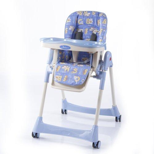 Детский стульчик для кормления Jetem – Capitan Light Blue WorldСтульчики для кормления<br>Детский стульчик для кормления Jetem – Capitan Light Blue World<br>
