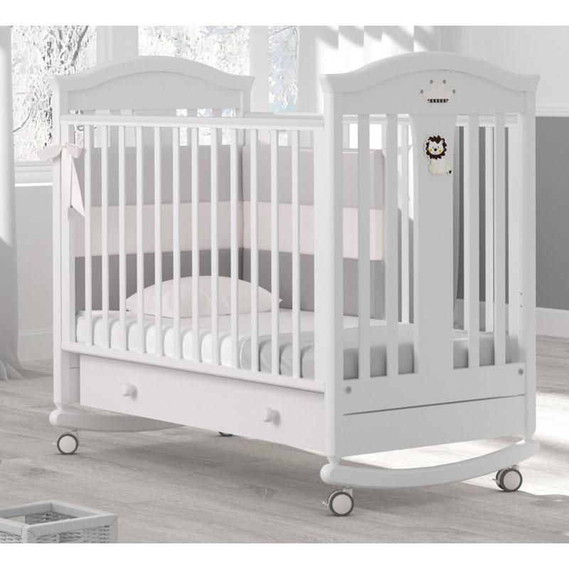Купить Кровать детская Гандылян К-2002-29 Даниэль, белый, GANDYLYAN