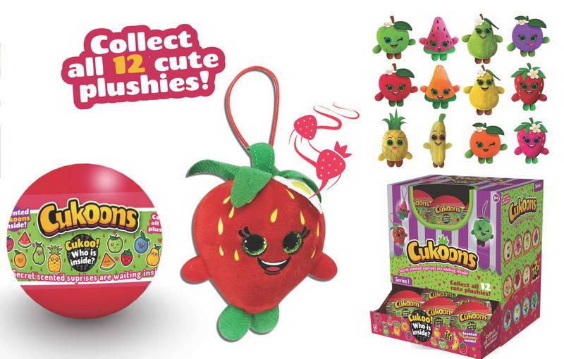 Купить Игрушка из серии Фрукты Cukoons, мягконабивные, 7 см в пластиковых шарах, 12 видов, ABtoys