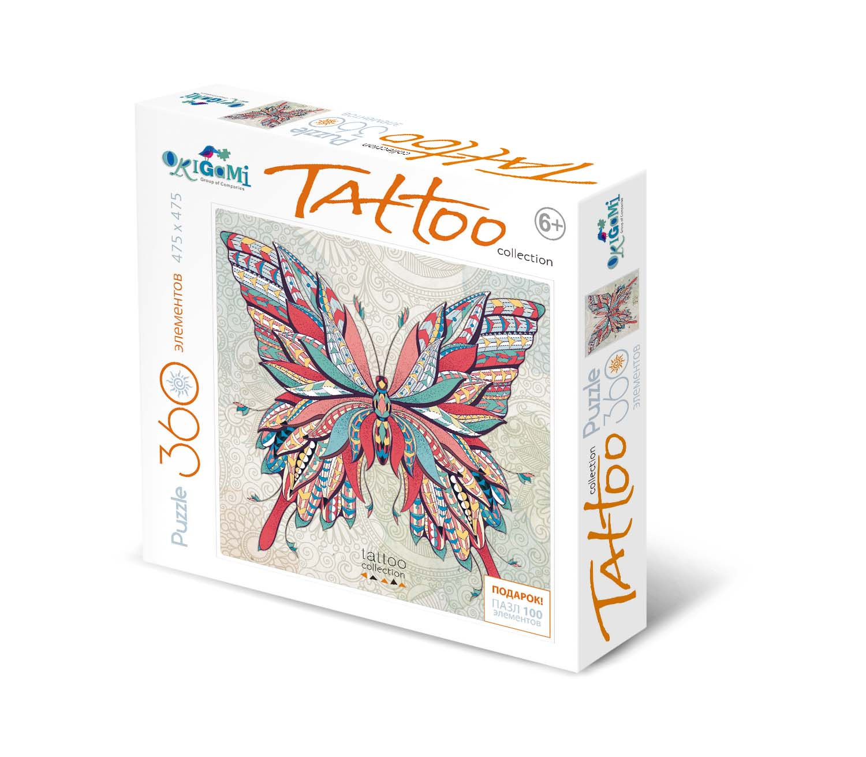 Купить Пазл 360 Арт-терапия - Бабочка, Origami