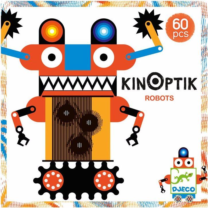 Пазл-аниматор Робот, с магнитными деталями фото