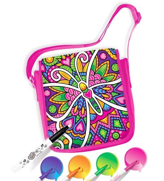 Сумка для раскрашивания – БабочкаСумки и  рюкзачки Simba Color Me mine<br>Сумка для раскрашивания – Бабочка<br>