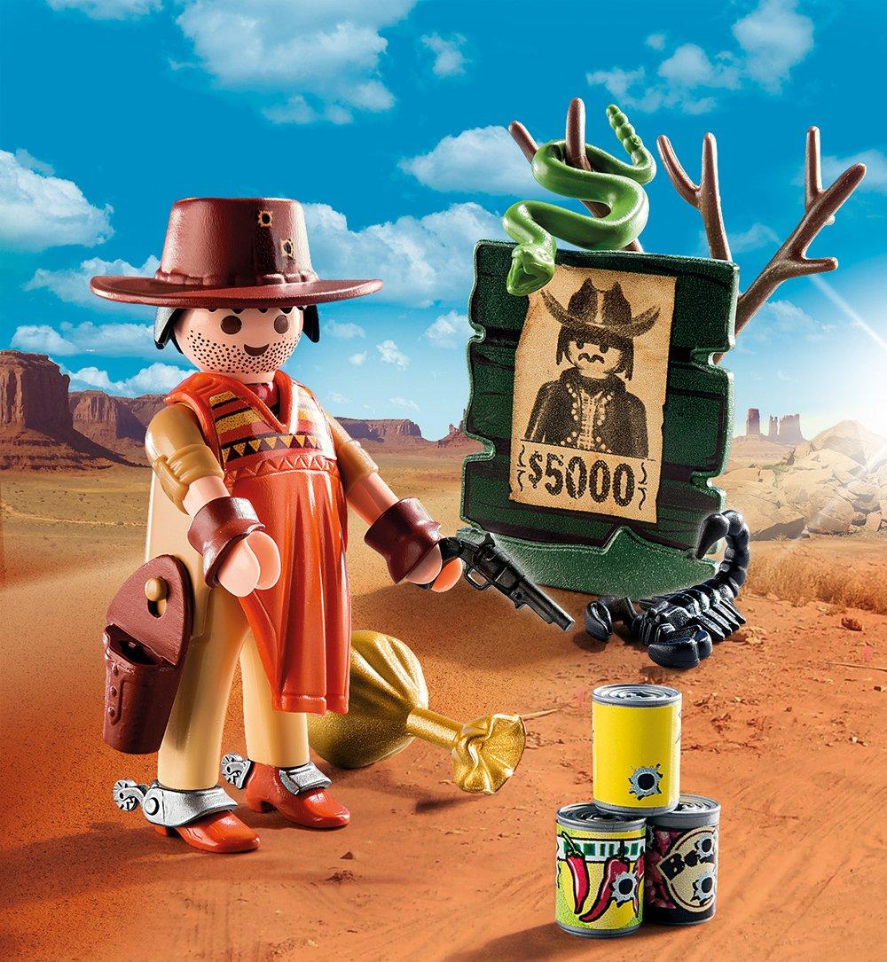 Купить Игровой экстра-набор: Ковбой с постером Разыскивается, Playmobil