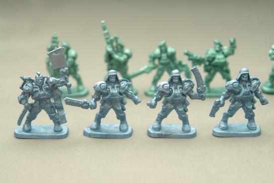 Набор солдатиков. БронепехотаРоботы, Воины<br>Набор солдатиков. Бронепехота<br>