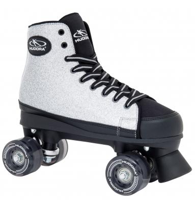 Купить Ролики-квады Hudora Roller Skates Silver Glamour, 37