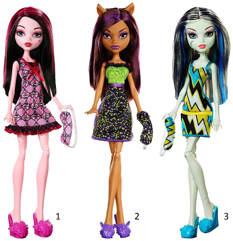 Кукла Monster High пижамная вечеринкаКуклы Ever After High и Monster High<br>Кукла Monster High пижамная вечеринка<br>