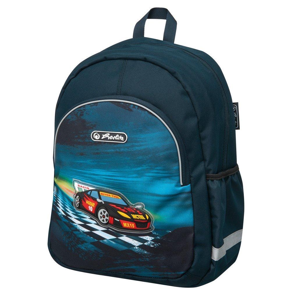 Рюкзак школьный Super Racer, без наполненияШкольные рюкзаки<br>Рюкзак школьный Super Racer, без наполнения<br>