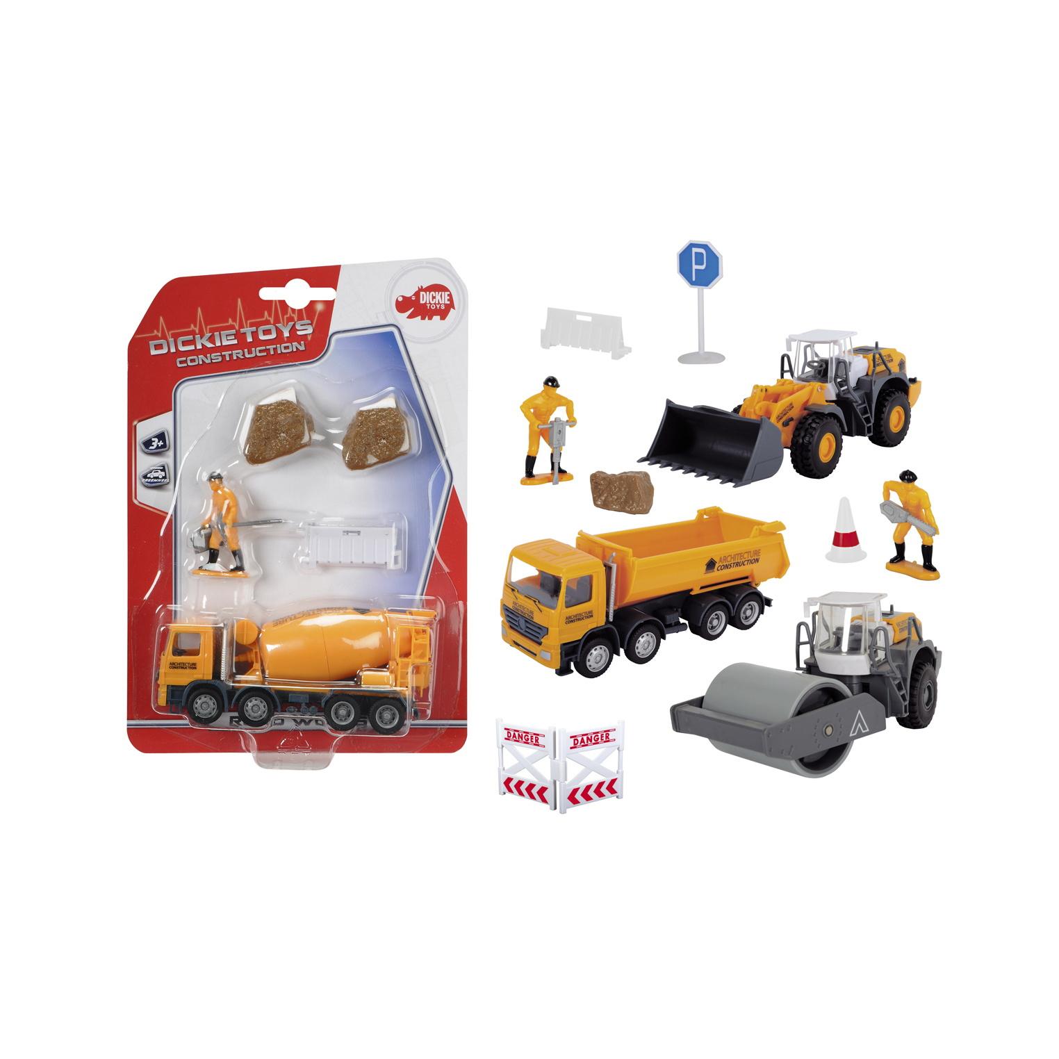 Купить Набор дорожной техники, 4 варианта, Dickie Toys