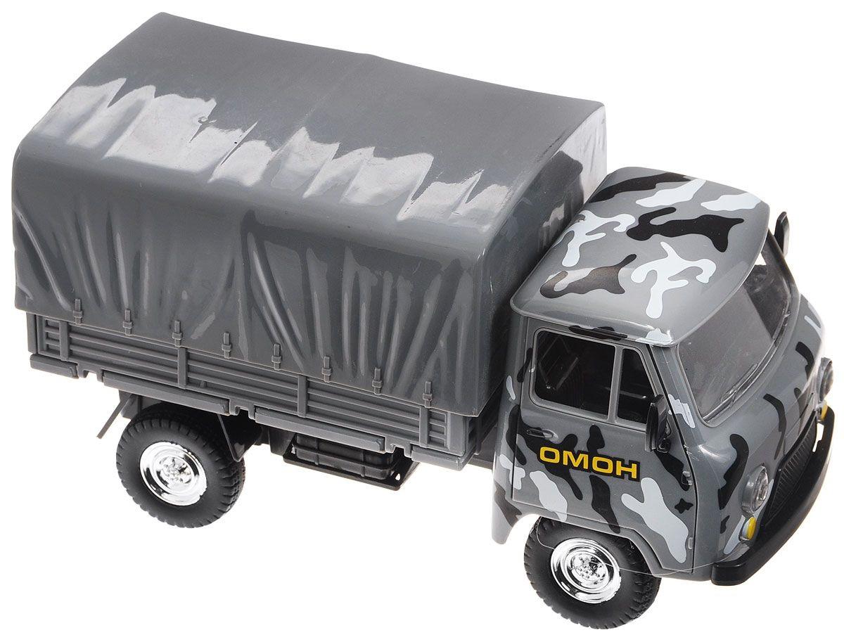 Инерционная машина УАЗ, 20 см, со светом и звукомПолицейские машины<br>Инерционная машина УАЗ, 20 см, со светом и звуком<br>