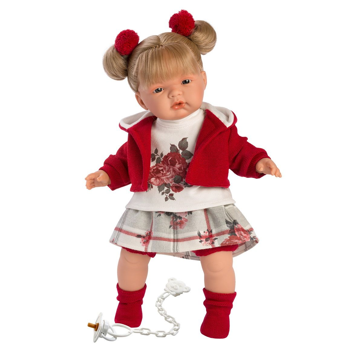 Купить Интерактивная кукла - Жоель, 38 см, со звуком, Llorens Juan