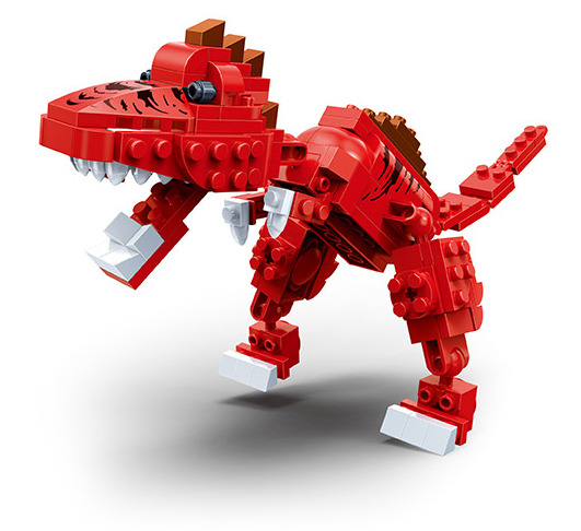 Конструктор Динозавр, 155 деталейКонструкторы BANBAO<br>Конструктор Динозавр, 155 деталей<br>