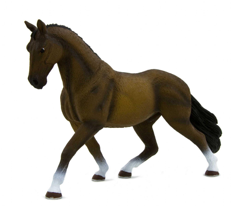 Фигурка - Жеребец Ганноверский темно-коричневый, пластиковыйЛошади (Horse)<br>Фигурка - Жеребец Ганноверский темно-коричневый, пластиковый<br>