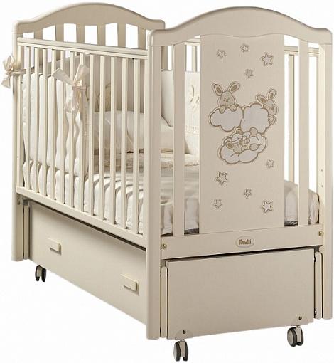 Кровать детская - Romance Swing, AvorioДетские кровати и мягкая мебель<br>Кровать детская - Romance Swing, Avorio<br>