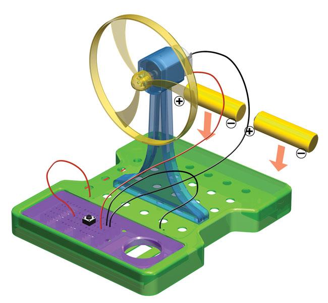 Развивающая игра-конструктор. Фикси-вентиляторРазвивающие<br>Развивающая игра-конструктор. Фикси-вентилятор<br>