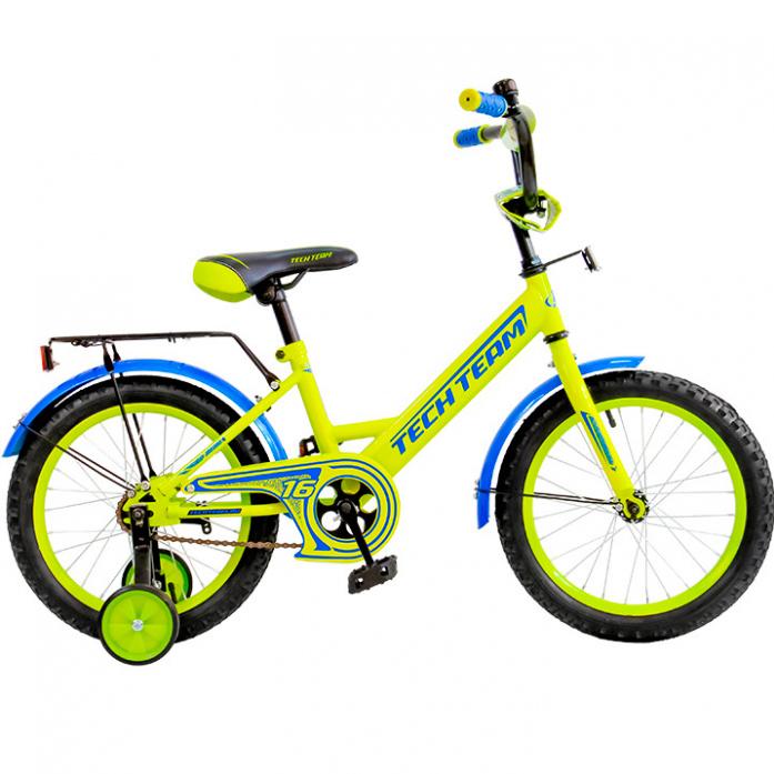 Велосипед Tech Team T 12137, диаметр колес 12 дюймов, желтыйВелосипеды детские<br>Велосипед Tech Team T 12137, диаметр колес 12 дюймов, желтый<br>