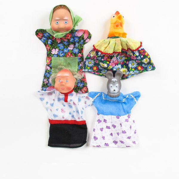 Пластмасса-Детство Кукольный театр - Курочка Ряба