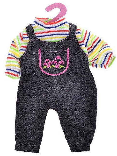 Одежда для кукол: джинсовый костюмчикОдежда для кукол<br>Одежда для кукол: джинсовый костюмчик<br>