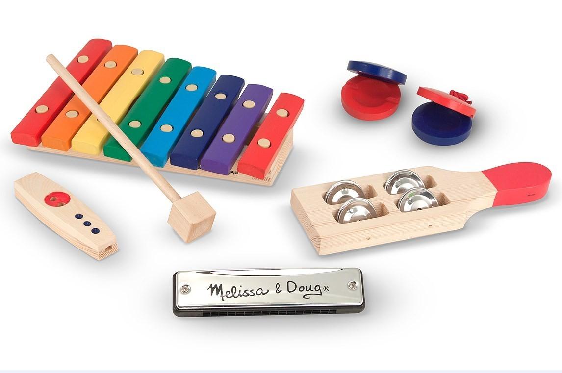 Набор музыкальных инструментов, 7 элементовМузыкальные наборы<br>Набор музыкальных инструментов, 7 элементов<br>