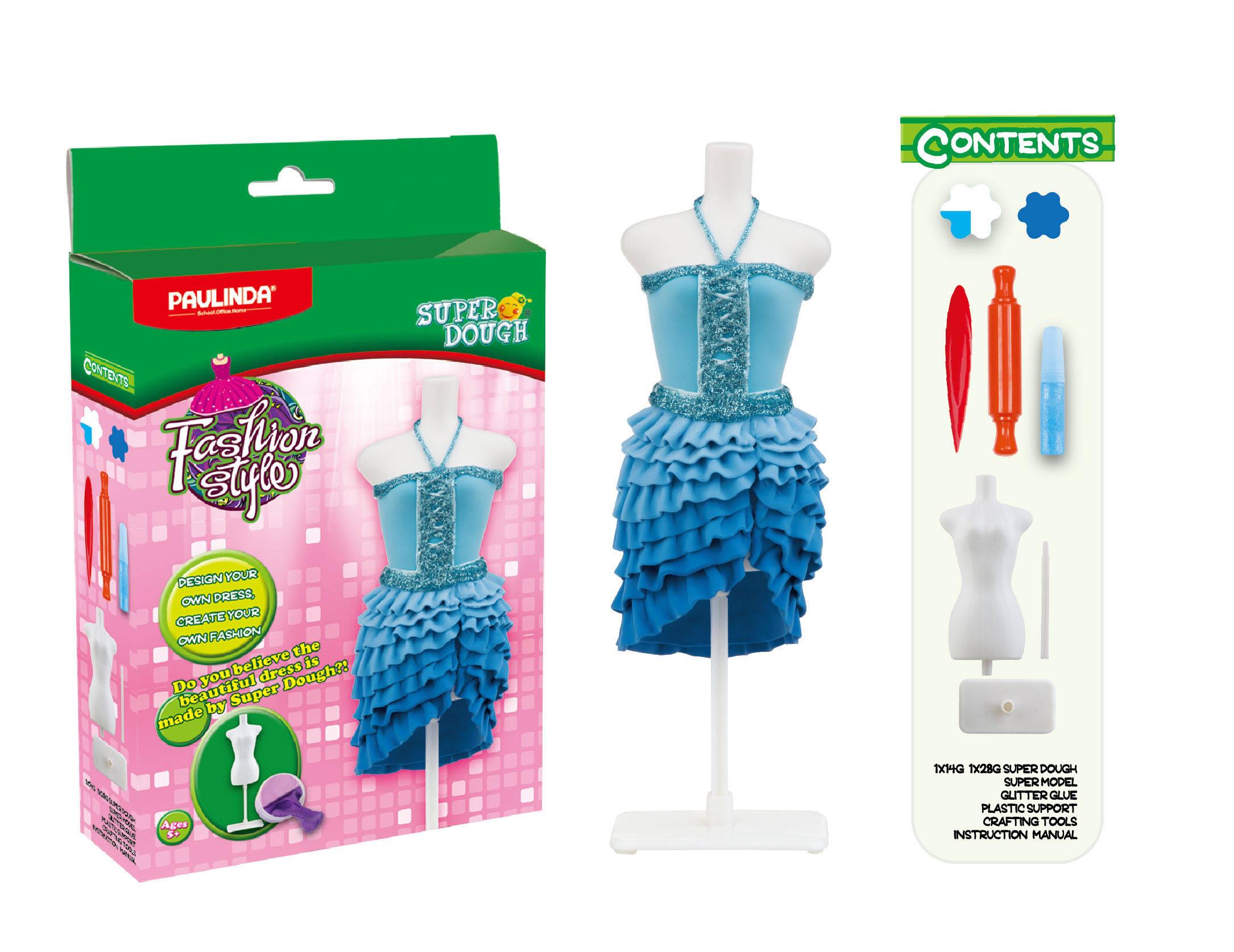 Масса для лепки - Мода и стиль, набор для создания наряда для куклыНаборы для лепки<br>Масса для лепки - Мода и стиль, набор для создания наряда для куклы<br>
