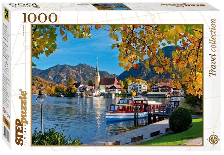 Пазл Бавария. Озеро Тегернзее, 1000 элементовПазлы 1000 элементов<br>Пазл Бавария. Озеро Тегернзее, 1000 элементов<br>