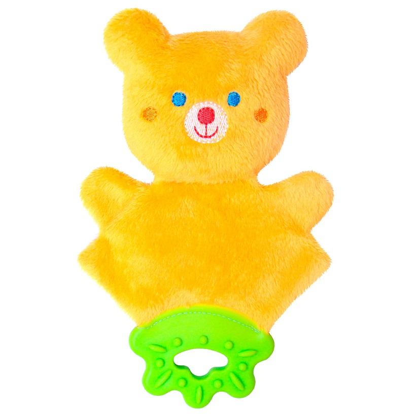 Хрустящий мишка Мистер Тед с прорезывателем и погремушкойДетские погремушки и подвесные игрушки на кроватку<br>Хрустящий мишка Мистер Тед с прорезывателем и погремушкой<br>