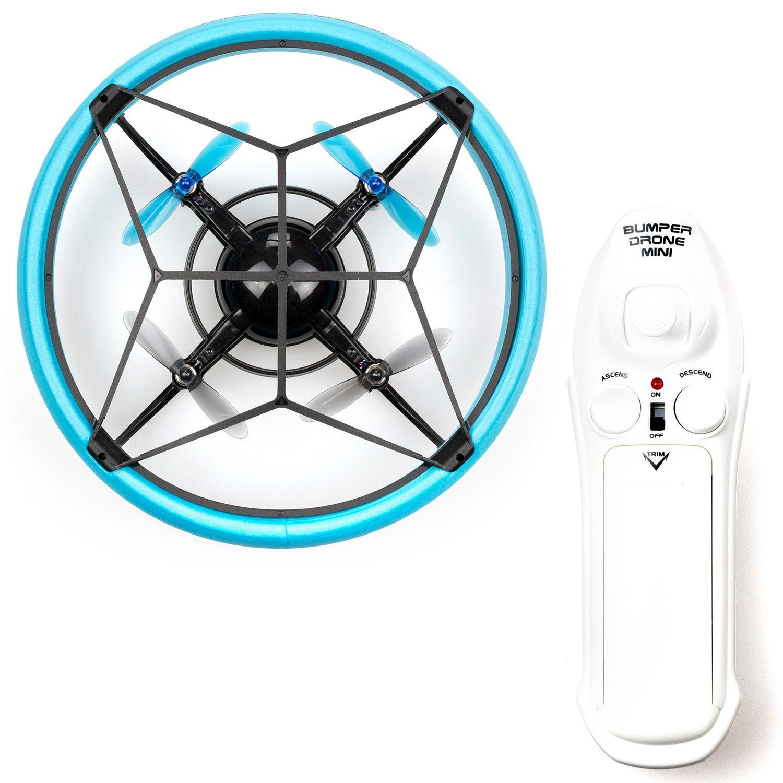 Радиоуправляемый мини-Бампер Дрон, синий