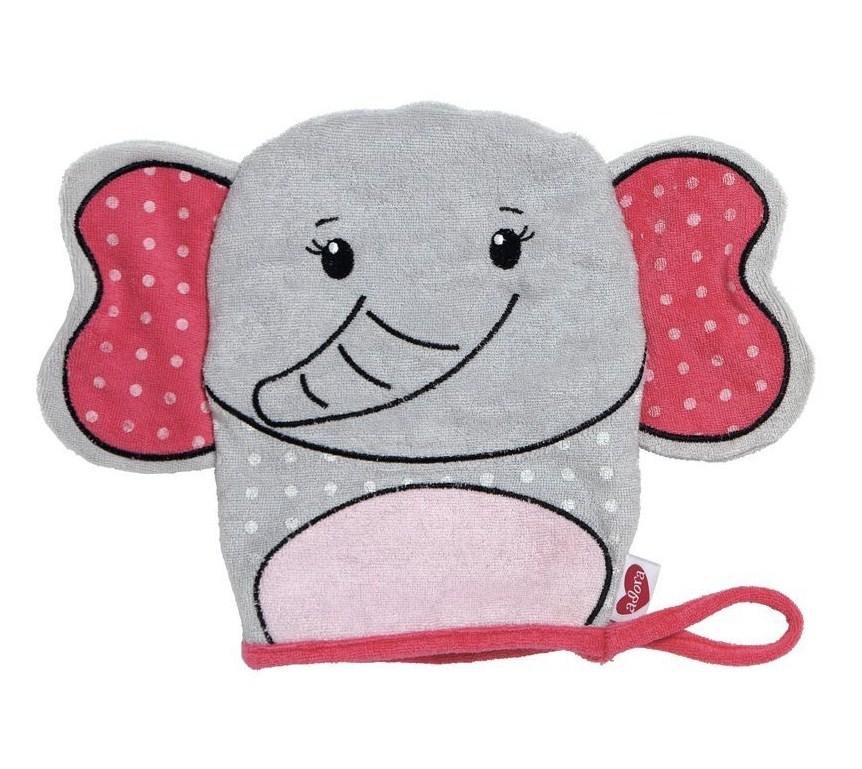 Кукла марионетка - Плюшевый слон из серии Время купаться, 21 см