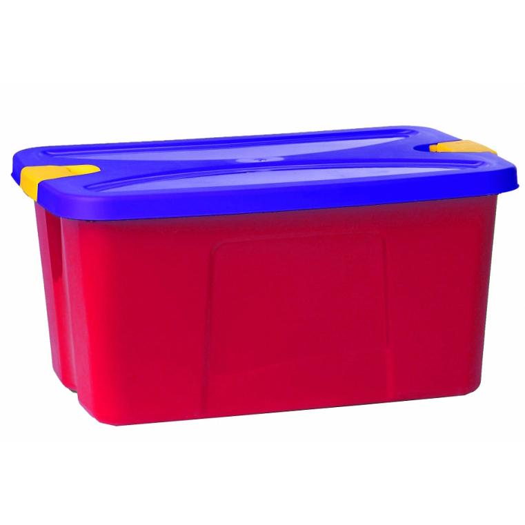 Ящик для игрушек – Секрет, малиновыйКорзины для игрушек<br>Ящик для игрушек – Секрет, малиновый<br>