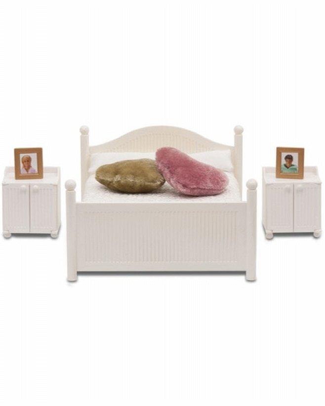 Купить Набор мебели для домика Смоланд - Спальня классическая, Lundby