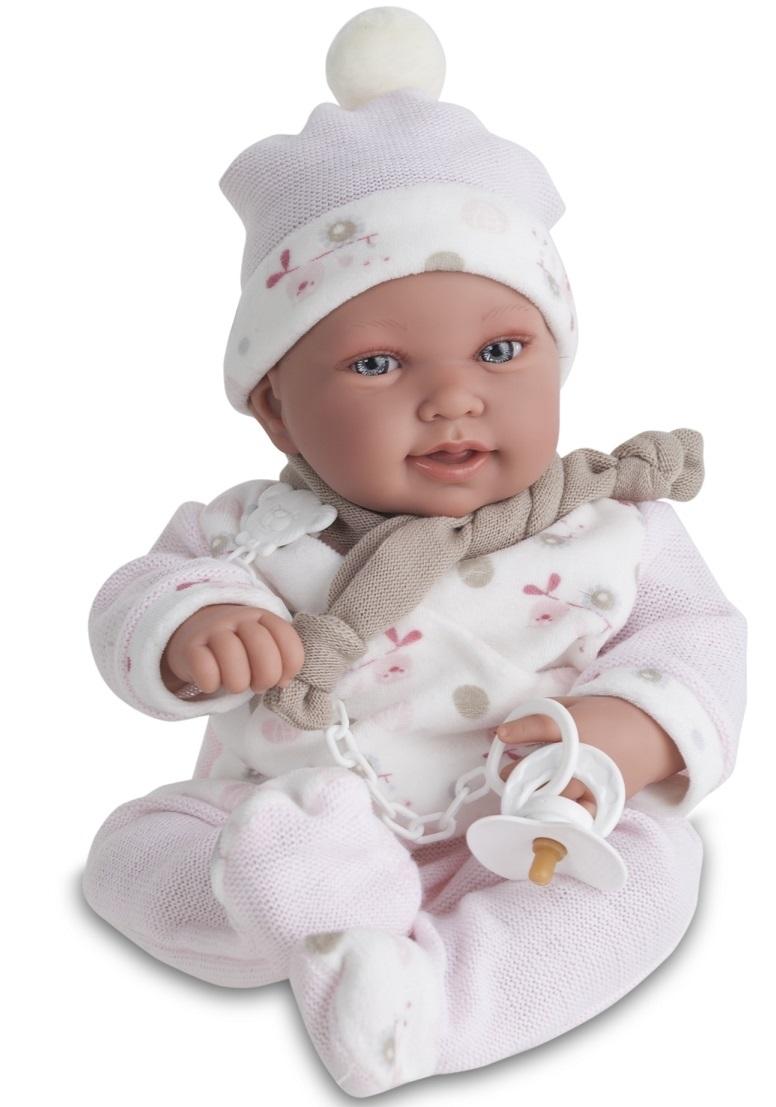 Кукла Камилла в розовом, озвученная, 40 см.Куклы Антонио Хуан (Antonio Juan Munecas)<br>Кукла Камилла в розовом, озвученная, 40 см.<br>
