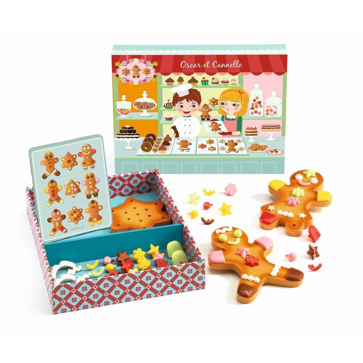 Набор сюжетно-ролевой игры - Печенье Оскара и КанэльАксессуары и техника для детской кухни<br>Набор сюжетно-ролевой игры - Печенье Оскара и Канэль<br>