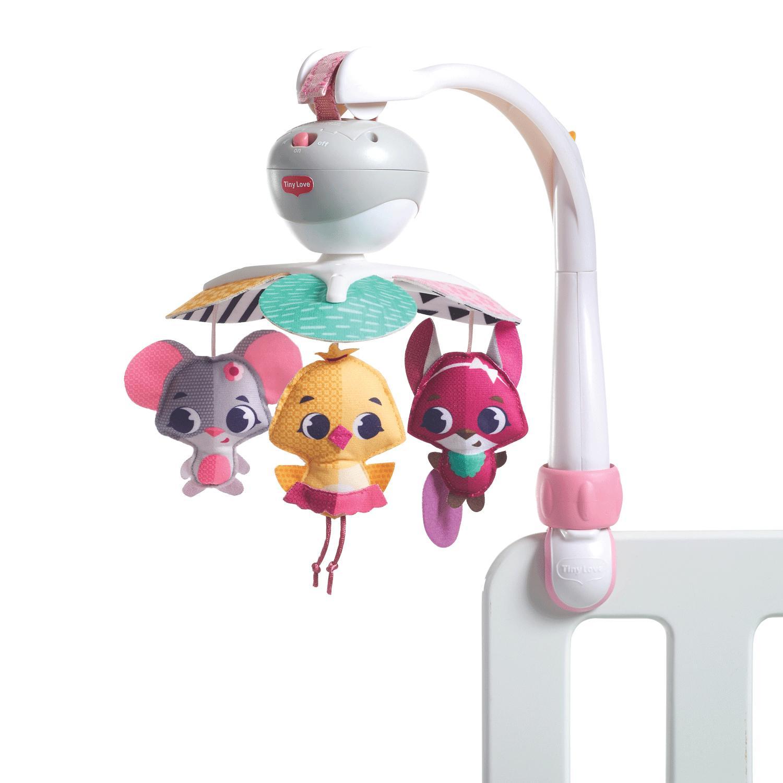 Малый универсальный мобиль – Принцесса, с 3 игрушками