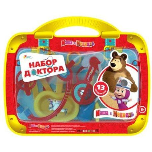 Набор доктора Маша и Медведь, 13 предметовНаборы доктора детские<br>Набор доктора Маша и Медведь, 13 предметов<br>