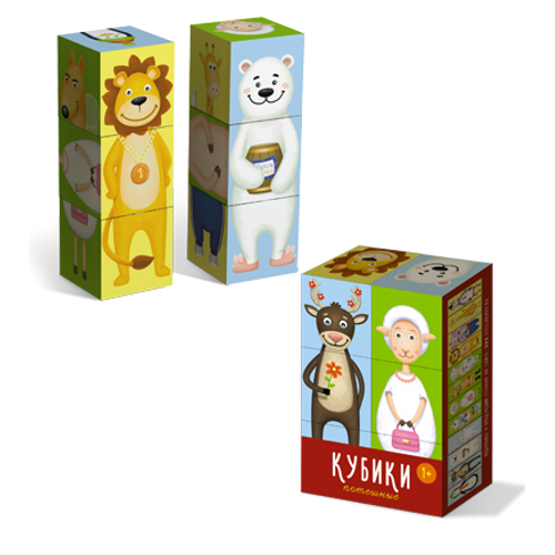 Кубики «Потешные»Кубики<br>Кубики «Потешные»<br>