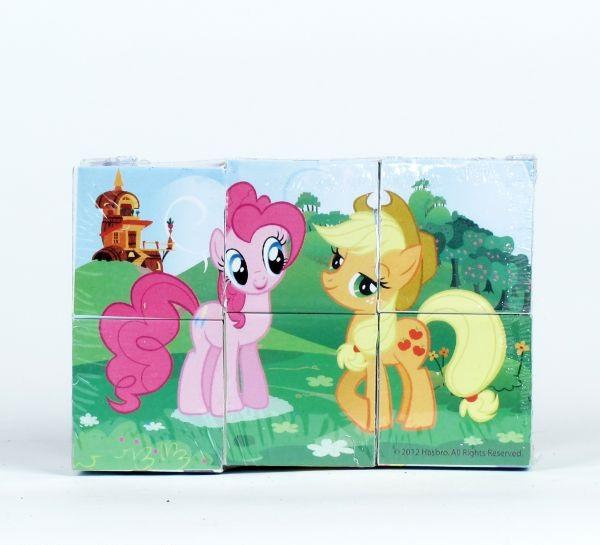 Набор из 6 кубиков серии My Little PonyКубики<br>Набор из 6 кубиков серии My Little Pony<br>