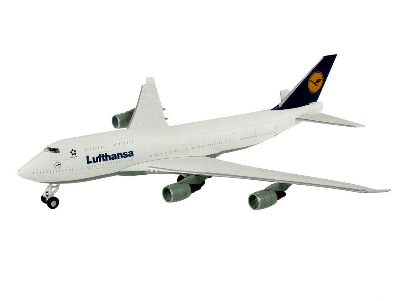 Сборная модель - Самолет Boeing 747 - LufthansaМодели самолетов для склеивания<br>Сборная модель - Самолет Boeing 747 - Lufthansa<br>