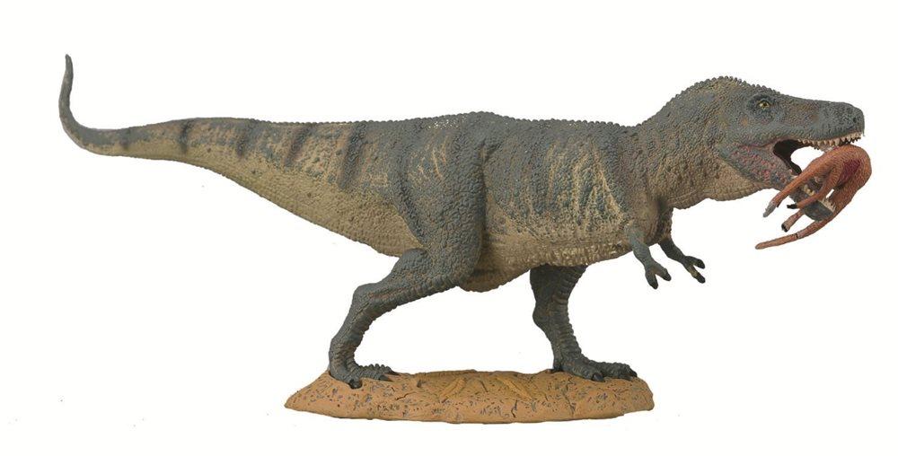 Фигурка Gulliver Collecta - Тиранозавр Рекс с добычей, XLЖизнь динозавров (Prehistoric)<br>Фигурка Gulliver Collecta - Тиранозавр Рекс с добычей, XL<br>