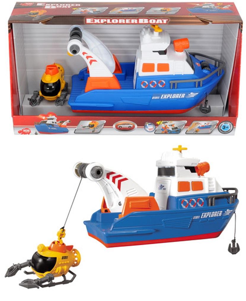 Исследовательское судно со светом и звукомПрочие интерактивные игрушки<br>Исследовательское судно со светом и звуком<br>