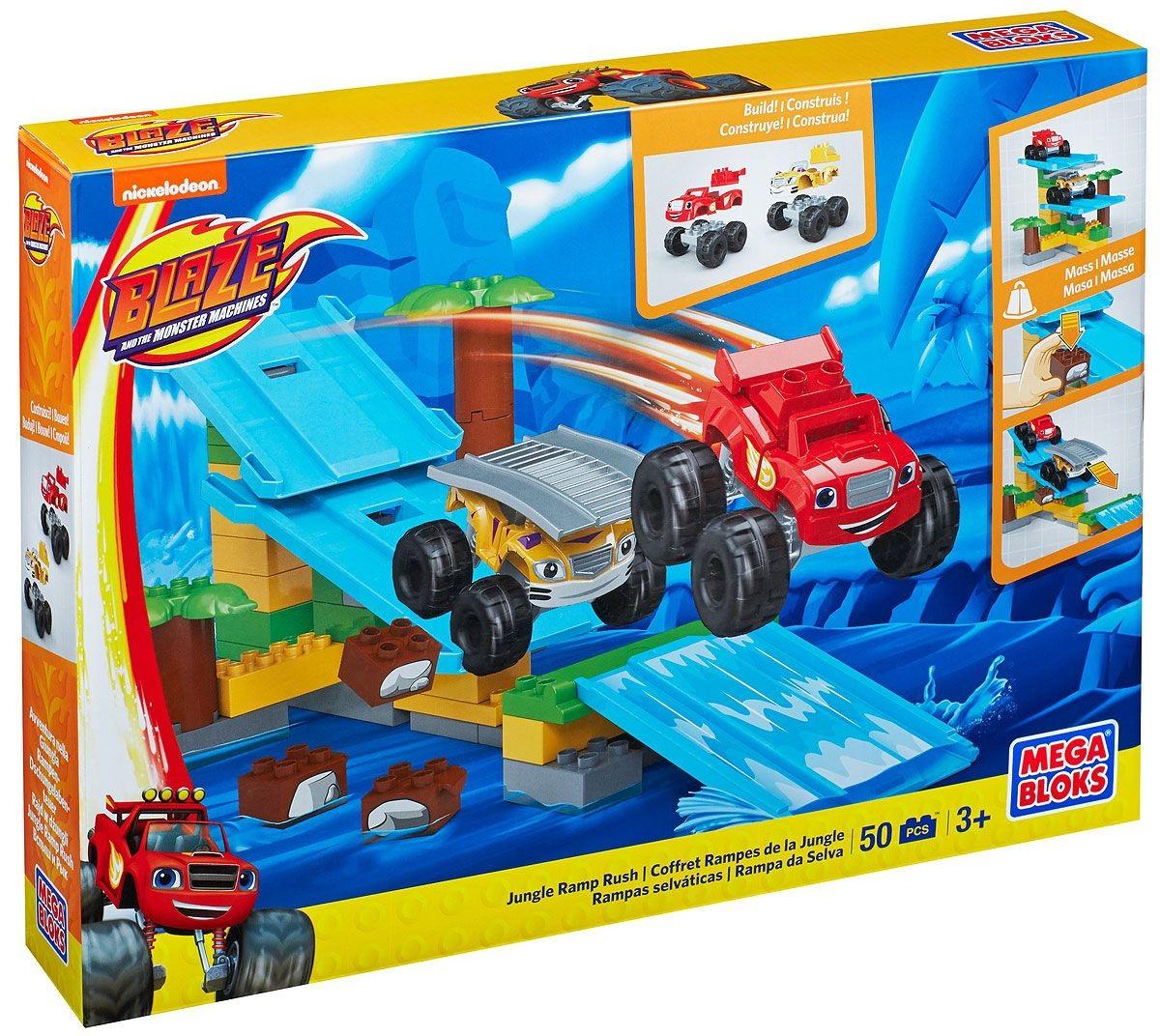 Игровой набор из серии Вспыш: гонки в джунгляхКонструкторы Mega Bloks<br>Игровой набор из серии Вспыш: гонки в джунглях<br>