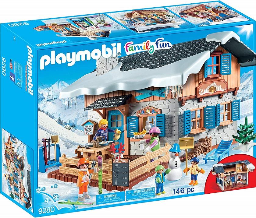 Игровой набор из серии Зимние виды спорта: Лыжная база, Playmobil  - купить со скидкой