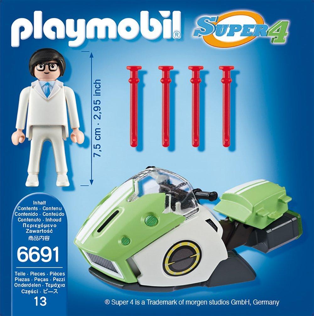 Игровой набор из серии Супер 4 - Скайджет Playmobil