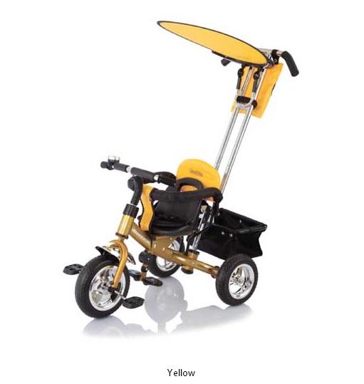 Трехколесный велосипед - Lexus Trike Next Generation желтыйВелосипеды детские<br>Трехколесный велосипед - Lexus Trike Next Generation желтый<br>