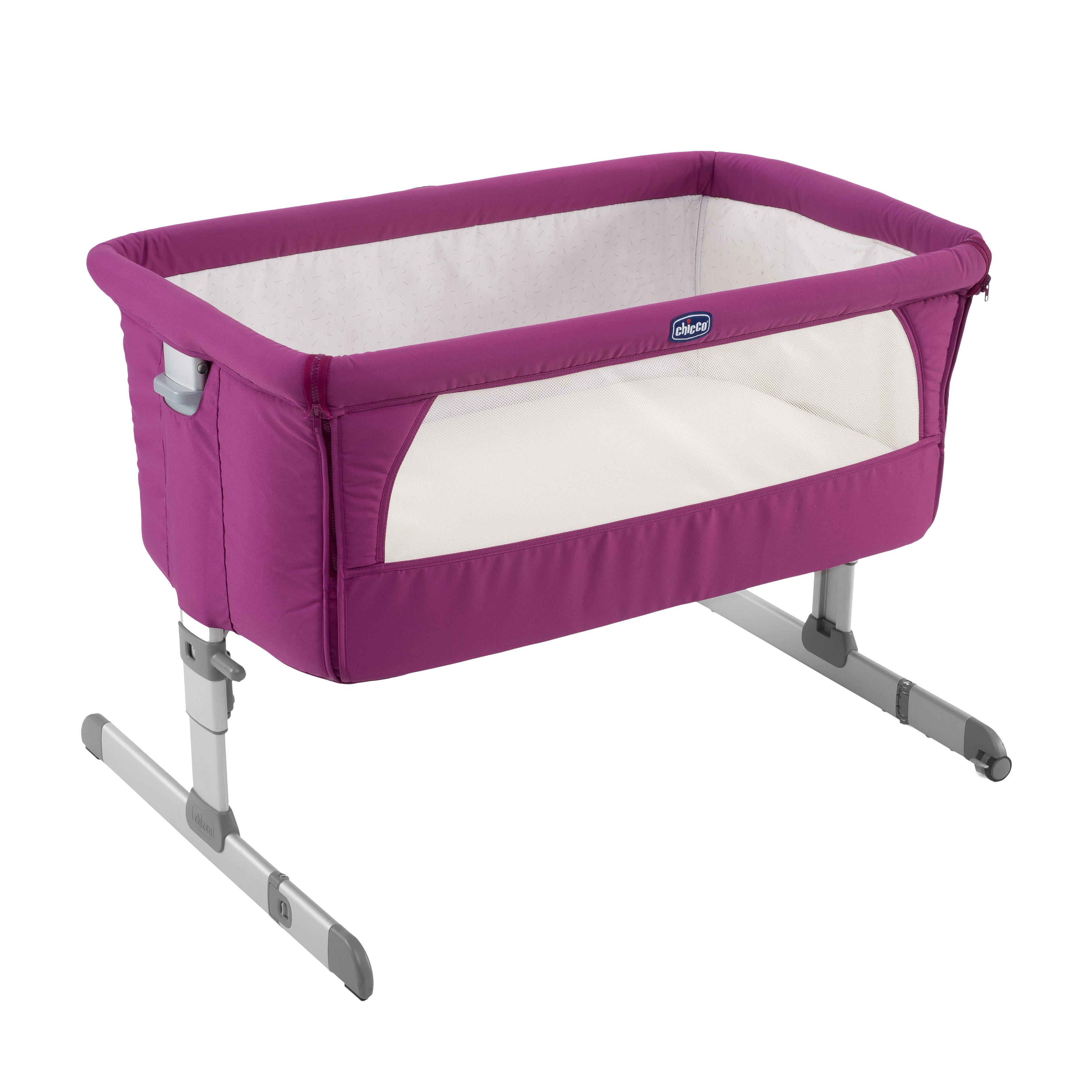 Кроватка детская Next2me FuchsiaЛюльки<br>Кроватка детская Next2me Fuchsia<br>