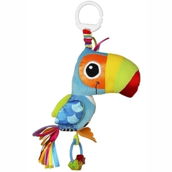 Игрушка для малышей - Веселый ТуканДетские погремушки и подвесные игрушки на кроватку<br>Игрушка для малышей - Веселый Тукан<br>
