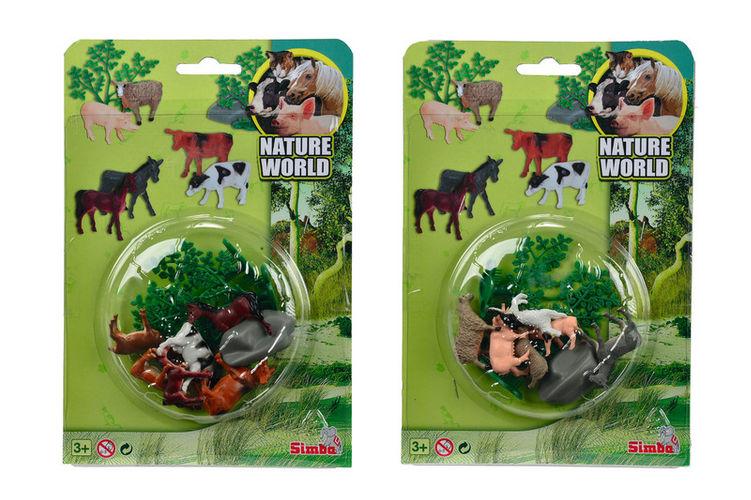 Набор домашних животных на блистереНа ферме (Farm life)<br>Набор домашних животных на блистере<br>