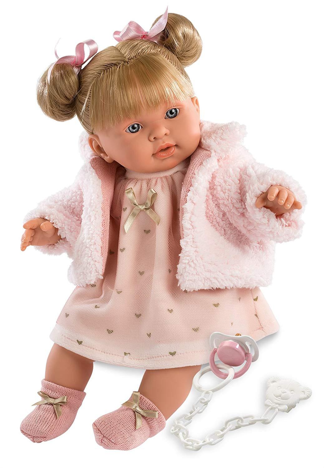 Купить Кукла Александра 42 см., со звуком, Llorens Juan
