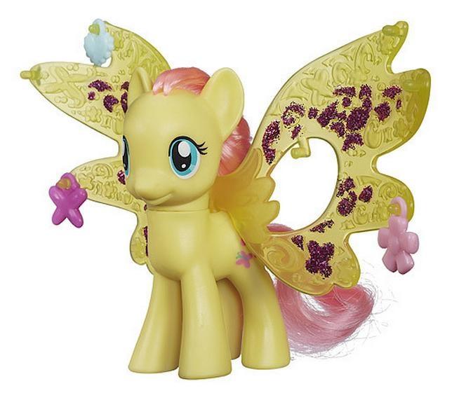 Игровой набор - Пони Делюкс Флатершай с волшебными крыльями, My Little PonyМоя маленькая пони (My Little Pony)<br>Игровой набор - Пони Делюкс Флатершай с волшебными крыльями, My Little Pony<br>