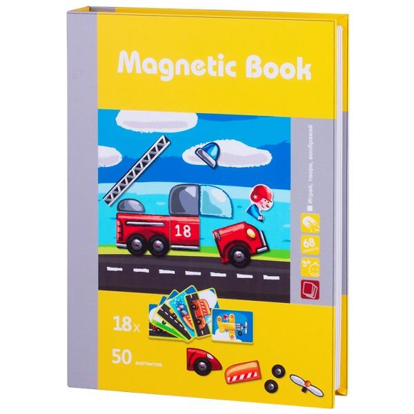 Развивающая игра Magnetic Book - Юный инженер