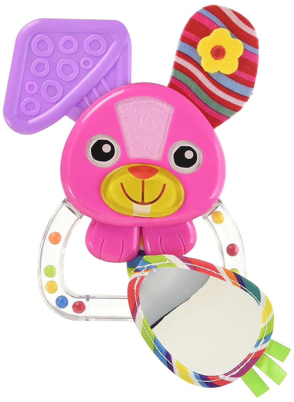 Погремушка - Зайка БеллаДетские погремушки и подвесные игрушки на кроватку<br>Погремушка - Зайка Белла<br>